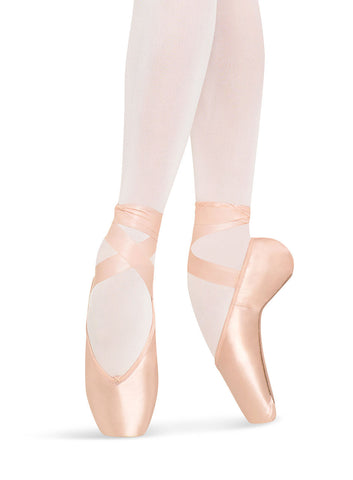 S0180SL  Heritage Strong Pointe Shoes Longer Length