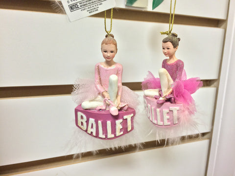 "C7227 ""Ballet"" Girl Ornament"