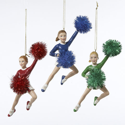 C8062 Cheerleader Ornament