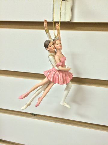 C8186 Ballet Boy and Girl Ornament