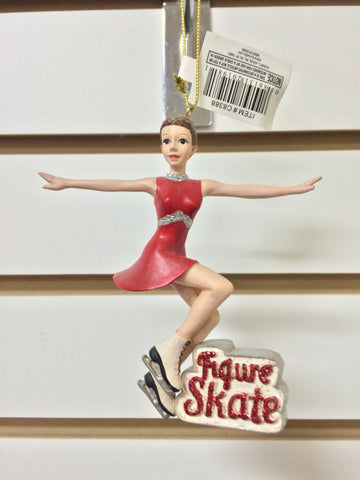 C8388 Figure Skating Girl Ornament