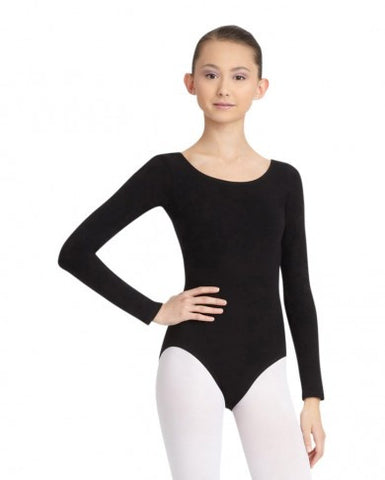 CC450   Capezio® Classics Adult Long Sleeve Leotard