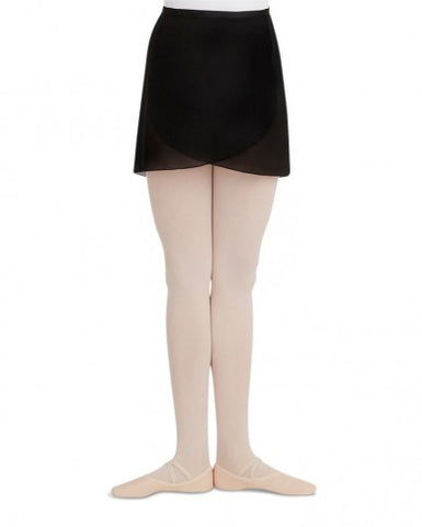 N272  Capezio® Adult Georgette Wrap Skirt