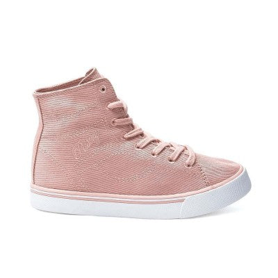 "Ladies Pastry ""Cassatta"" Stretch Canvas High Top Sneakers"