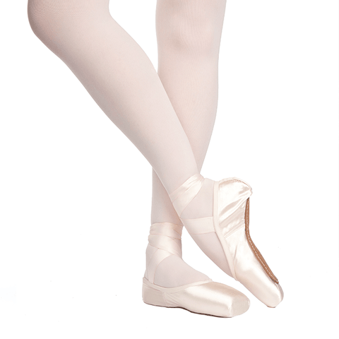 Rubin U-Cut Drawstring Pointe Shoes Medium Shank