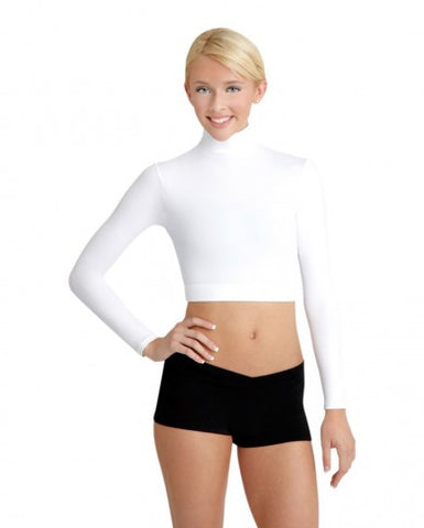TB107 Capezio® Team Basics Adult Turtleneck Top