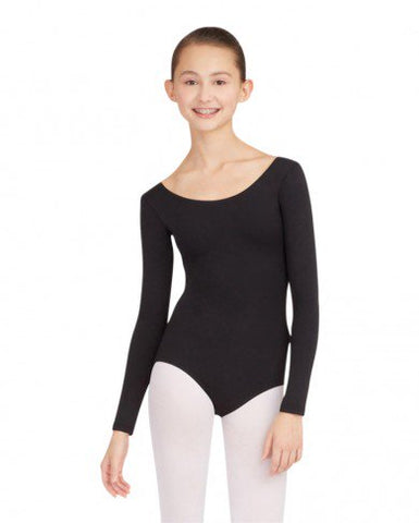 TB135 Capezio® Team Basics Adult Long Sleeve Leotard