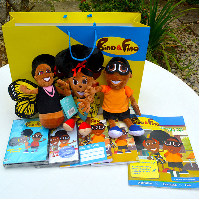 Bino and Fino Kids Educational Pack Duluxe Edition