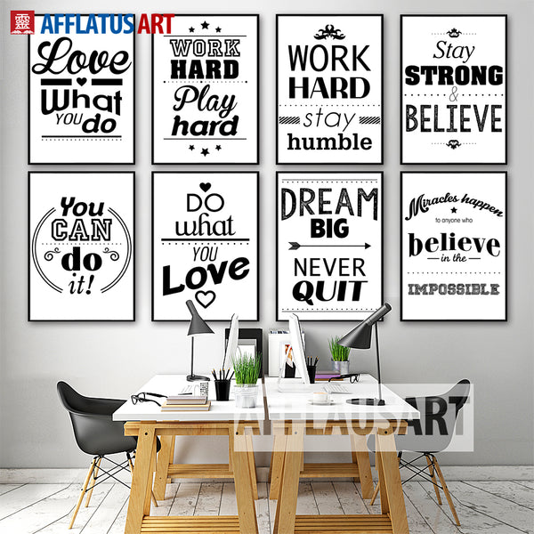 Bộ tranh Motivational Typography_PA0418177