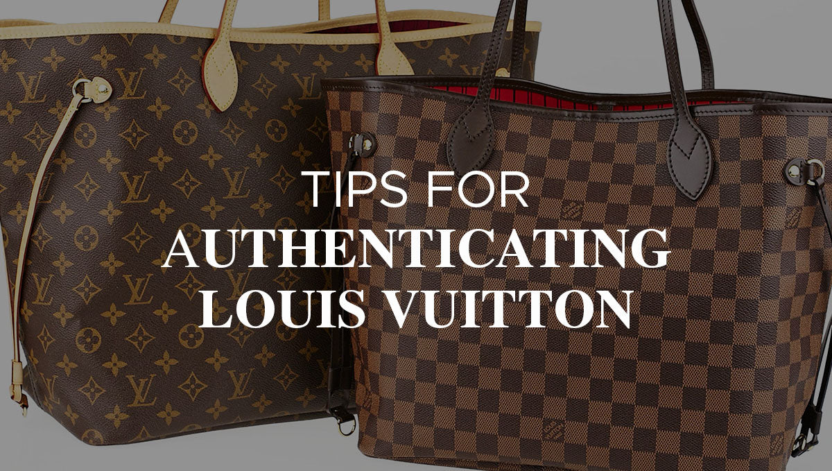 How to Recognize an Original Louis Vuitton Bag