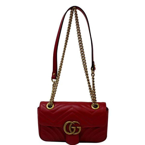 Gucci GG Marmont Mini Leather Shoulder Crossbody Bag