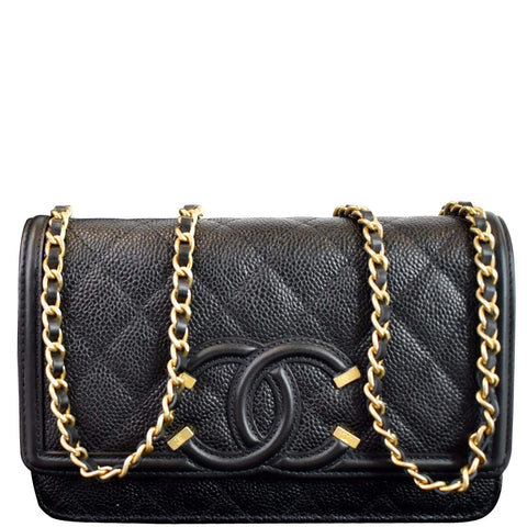 Woc Quilted Caviar Chanel Camera Bag