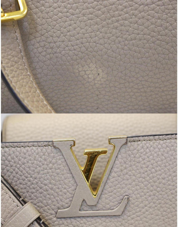 LOUIS VUITTON Capucines - Taurillon Leather Shoulder Bag