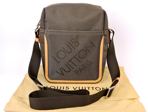 LOUIS VUITTON Damier Geant Citadin Crossboday Messenger Bag