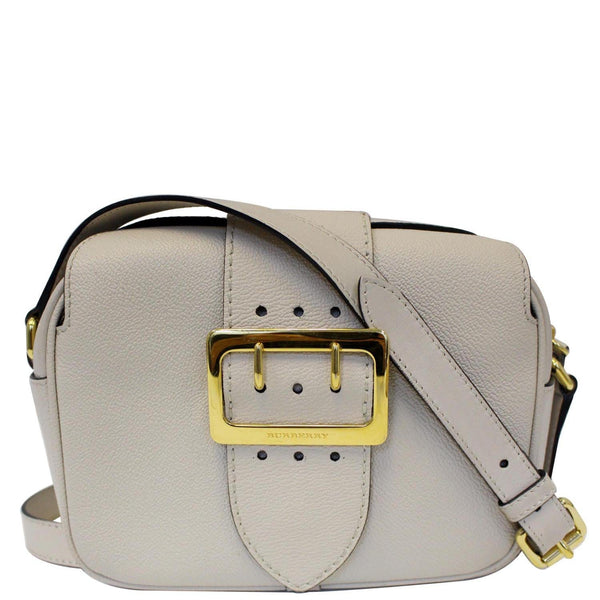Burberry Crossbody Bag | Burberry Buckle Limestone - Front