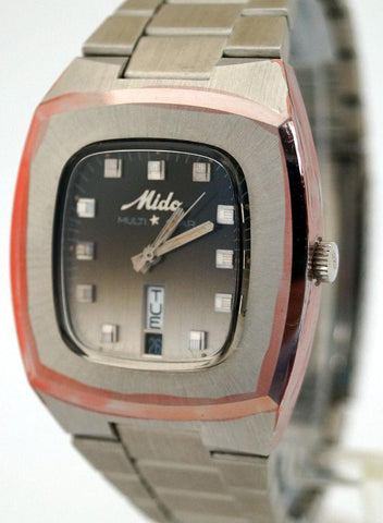 Mido Rare Mens Multi Star 1849 Automatic Swiss Watch