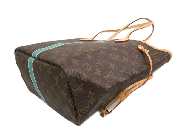 LOUIS VUITTON Monogram Neverfull MM Mon Tote Shoulder Bag
