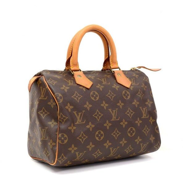 LOUIS VUITTON Pre owned Monogram Speedy 25 City Handbag Vintage