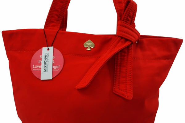 Kate Spade Orange Canvas Baby Diaper Bag E2028