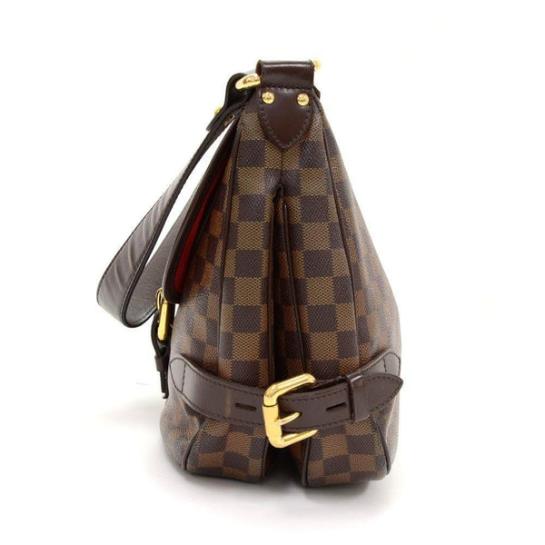 Louis Vuitton Highbury Damier Ebene Shoulder Handbag - side view