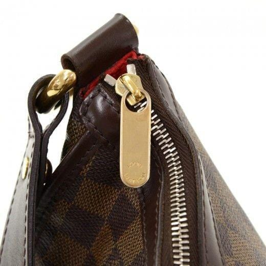 Louis Vuitton Highbury Damier Ebene Shoulder Handbag - lv zip