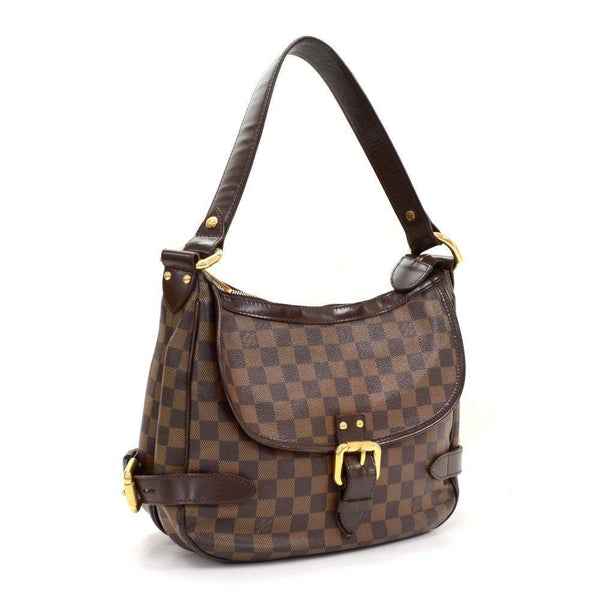 Louis Vuitton Highbury Damier Ebene Shoulder Handbag