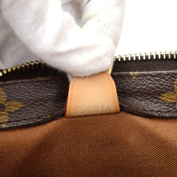 LOUIS VUITTON Cabas Piano Monogram Canvas Shoulder Handbag