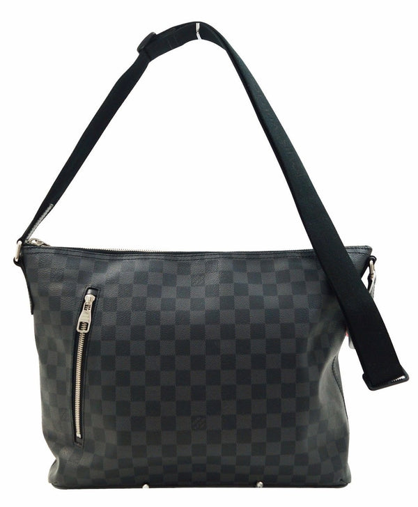 LOUIS VUITTON Damier Graphite Mick MM Crossbody Shoulder Bag