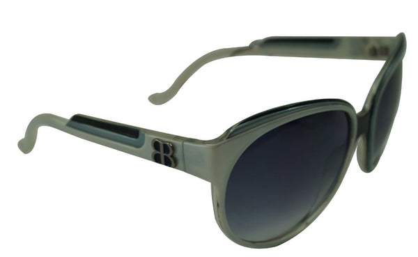 Balenciaga Grey BAL 0045/S A6RU3 Women's Plastic Sunglasses Made in Italy TT340 - Dallas Designer Handbags