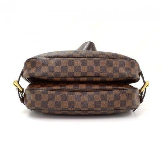 Louis Vuitton Highbury Damier Ebene Shoulder Handbag - back view