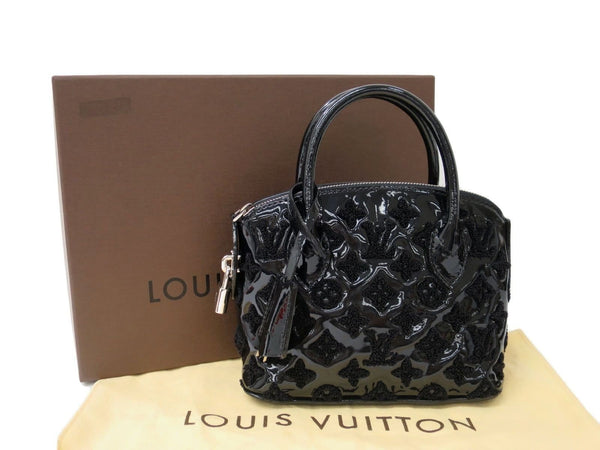 LOUIS VUITTON Lockit BB Bouclette Black Excellent Handbag - Final Call