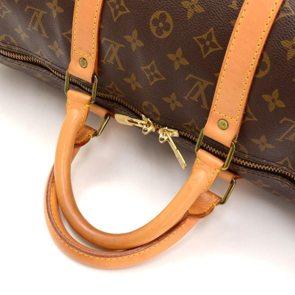 LOUIS VUITTON Keepall 50 Monogram Canvas Duffle Travel Bag
