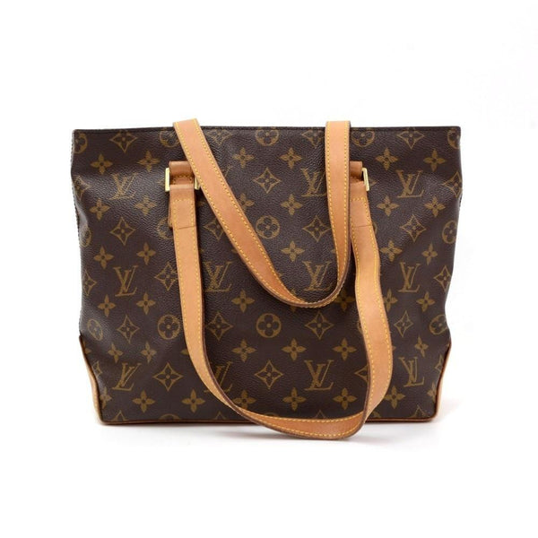 LOUIS VUITTON Cabas Piano Monogram Canvas Shoulder Bag