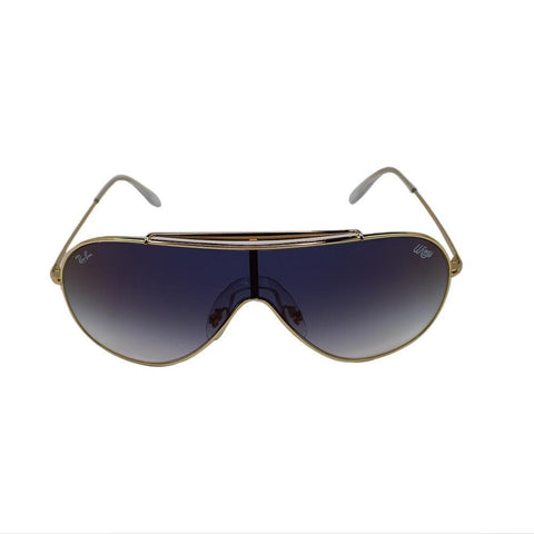 Ray-Ban RB3597 001/X0 Wings Men Sunglasses Clear Blue Red Mirrored