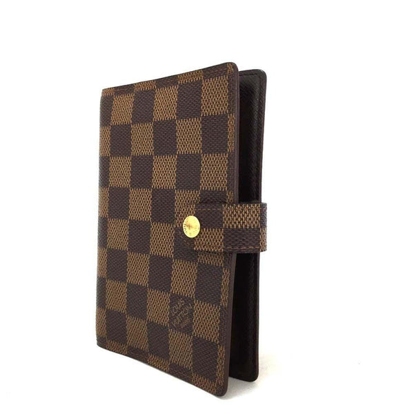 LOUIS VUITTON Damier Ebene Agenda Pm Day Planner Cover - Final Call
