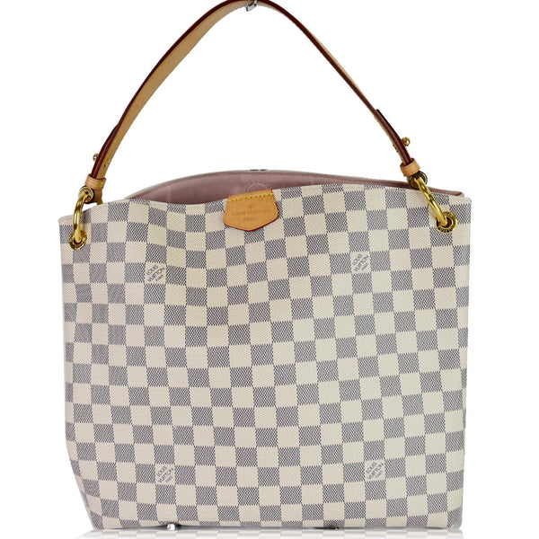 Louis Vuitton Graceful PM Damier Azur Shoulder Bag