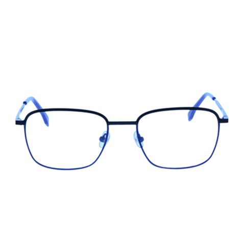 LACOSTE L2222 424 53 Men Matte Blue Frame Eyeglasses Demo Lens