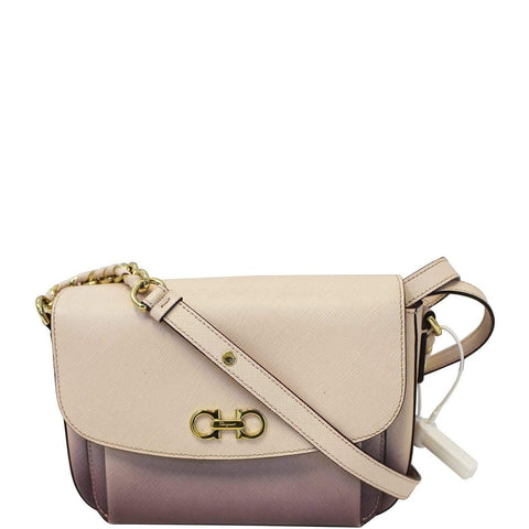 SALVATORE FERRAGAMO Gancio Logo Sandrine Crossbody Flap Bag - Last Call