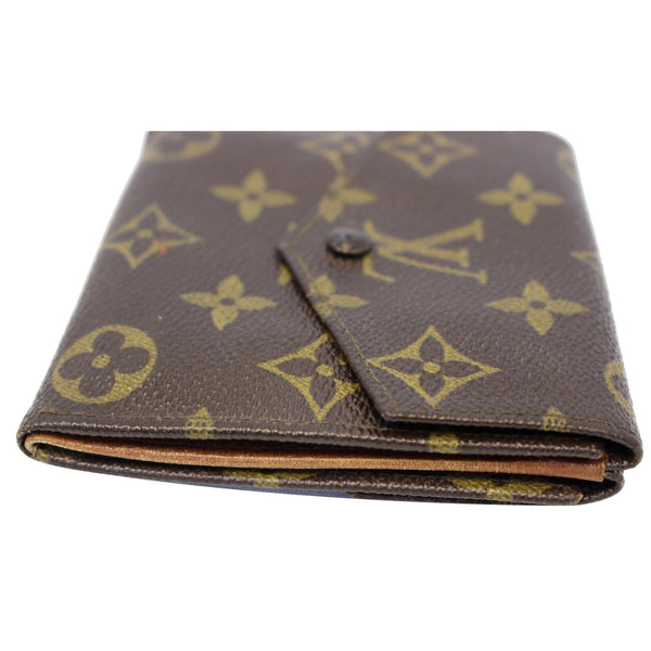 Louis Vuitton Wallet Monogram Canvas Vintage Flap - corner view