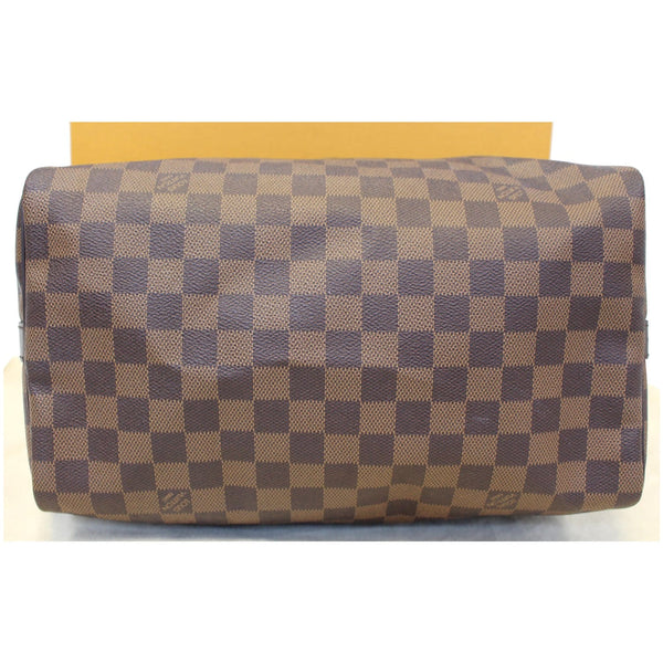 LOUIS VUITTON Speedy 30 Bandouliere Damier Ebene Shoulder Bag Brown-US