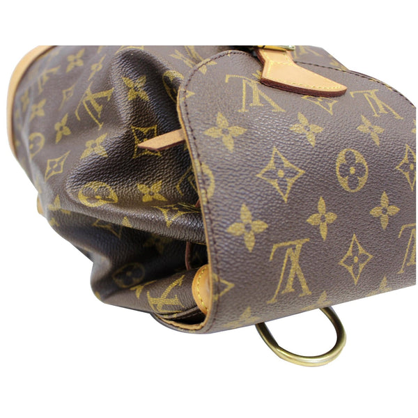 LOUIS VUITTON Montsouris MM Monogram Canvas Backpack Bag Brown-US
