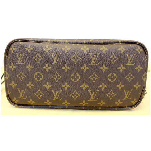 LOUIS VUITTON Neverfull MM My LV World Tour Shoulder Bag Brown/Black