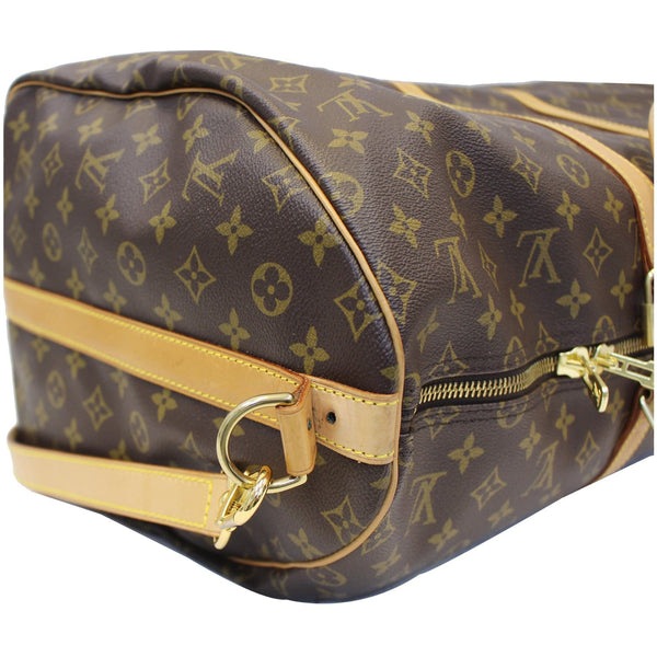 Louis Vuitton Keepall 55 Bandouliere Travel Bag - authentic
