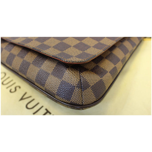 LOUIS VUITTON Musette Salsa Damier Ebene Crossbody Bag Brown-US