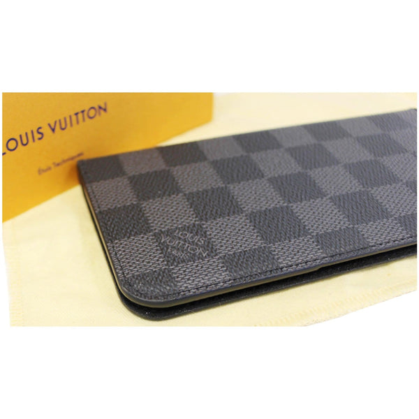 Louis Vuitton Folio Case For iPhone 7 Plus Damier on sale