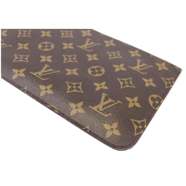 Louis Vuitton Neverfull MM Pouch Wristlet Pochette - corner