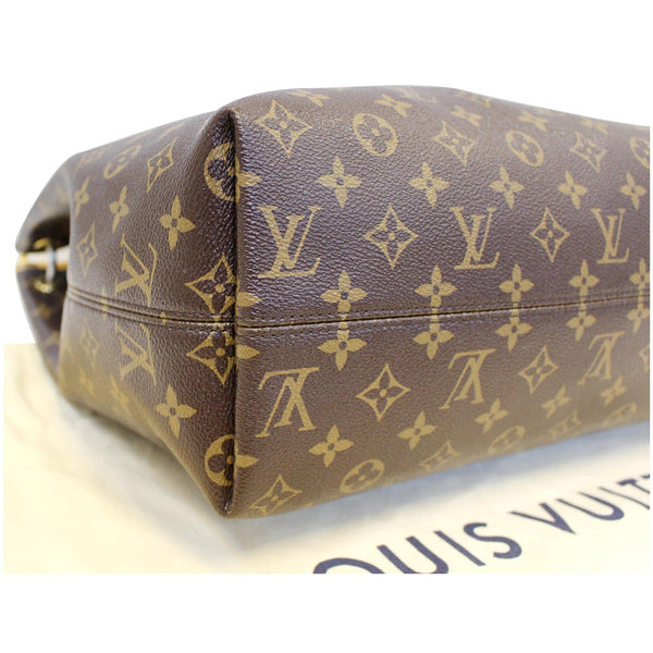 Louis Vuitton Graceful MM - Lv Monogram Shoulder Bag - corner