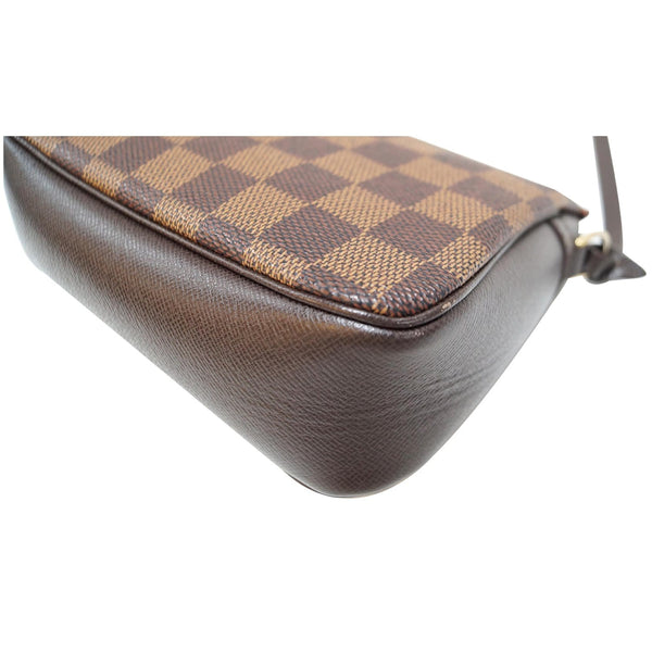 Louis Vuitton Damier Ebene Truth Makeup Pouch Bag - left side