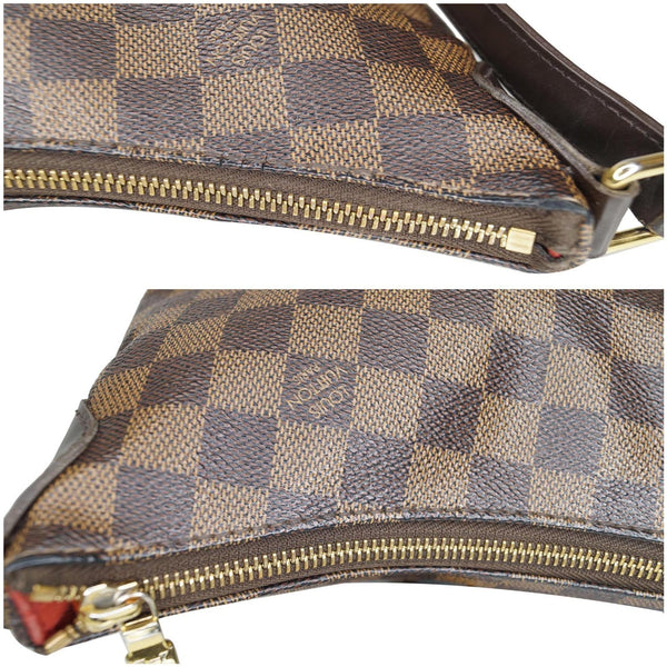 Louis Vuitton Bloomsbury PM Damier Ebene Bag with zip