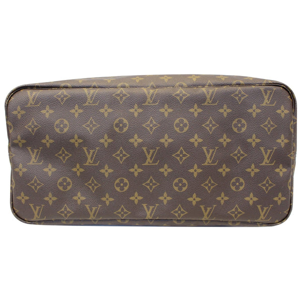 Louis Vuitton Neverfull GM Monogram Canvas Tote Bag - back view